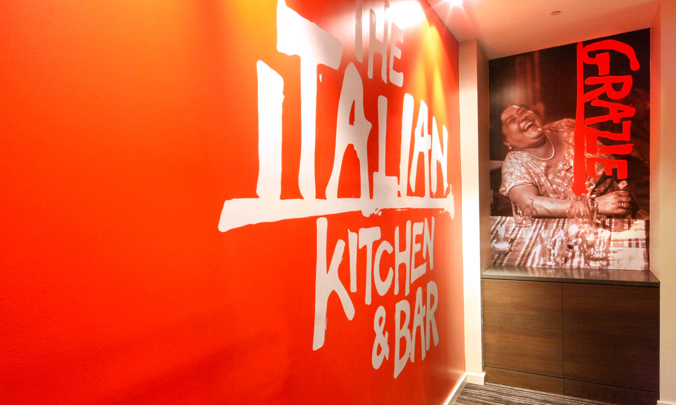 Commercial Photography Sydney – Italian Kitchen bar