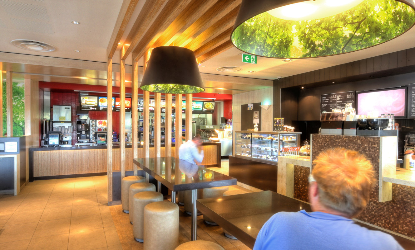 Interior Design Photography Sydney – Mc Donalds, ADCO