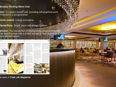 Revesby Working Mens Club – A commissioned bespoke installation